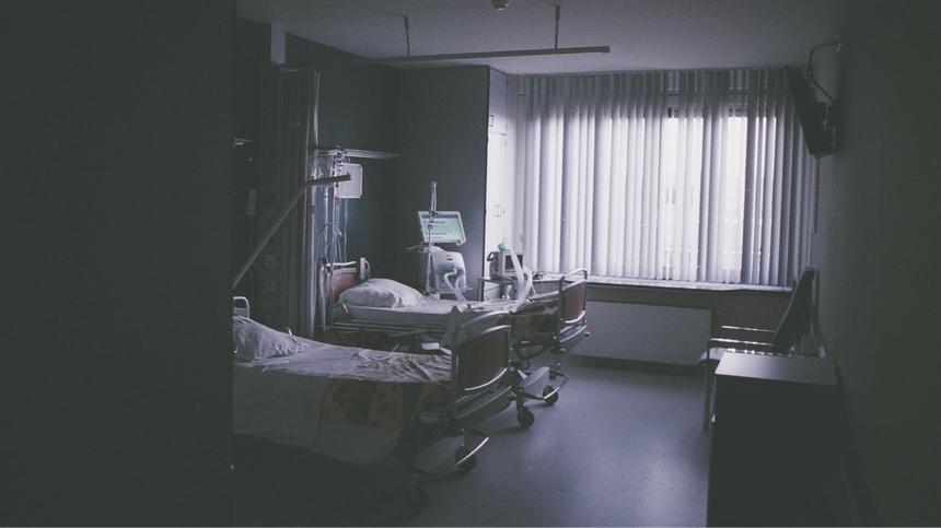 Triage: Bild von einem Krankenzimmer