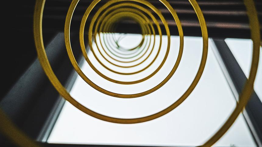 Symbolbild: Goldspirale