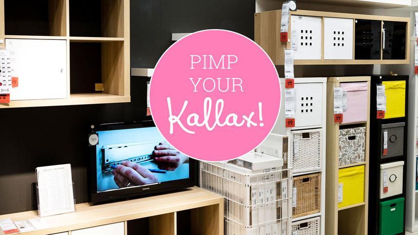 Mit diesen Kallax-Hacks wird dein Ikea-Regal zum ungeahnt stylischen Möbelstück