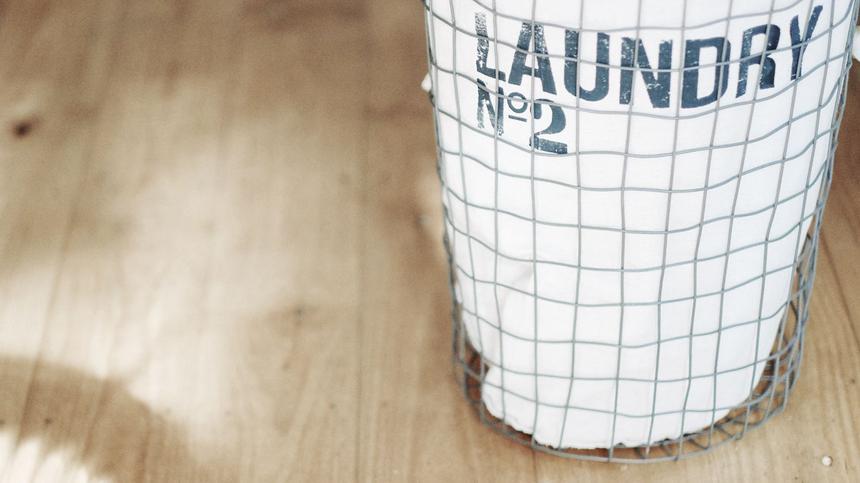 Du wünschst dir einen DIY-Wäschekorb? Nichts leichter als das. So geht's!