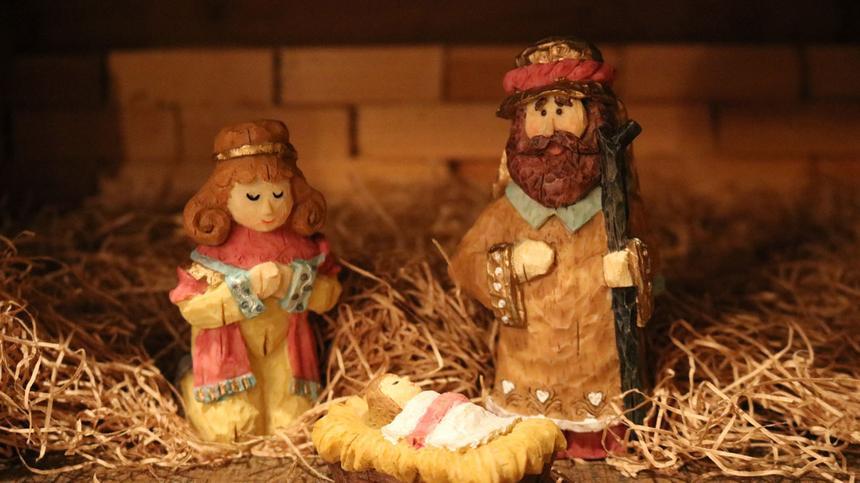 Die Weihnachtsgeschichte fasziniert auch die Kleinsten.