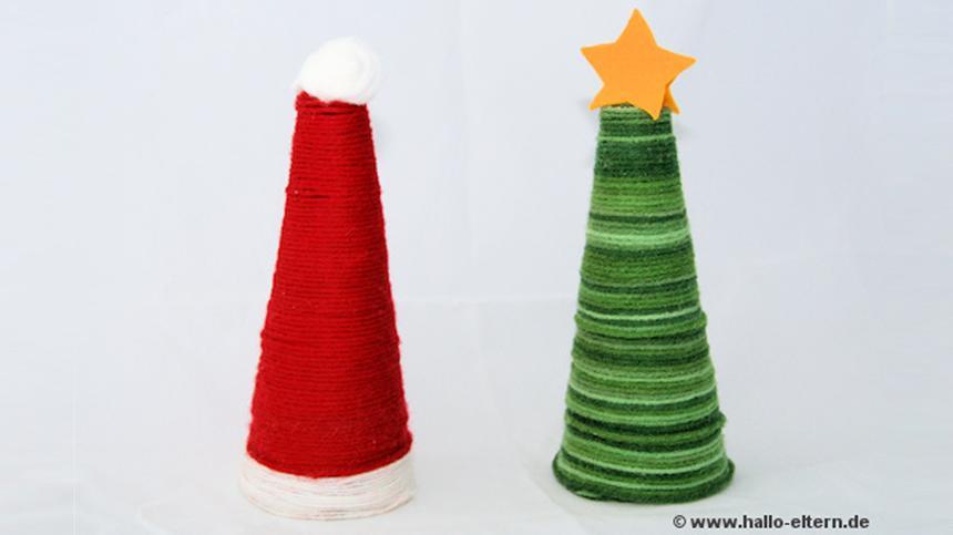 Diese niedliche Weihnachtsdeko ist schnell gebastelt und bringt jeden in Feststimmung