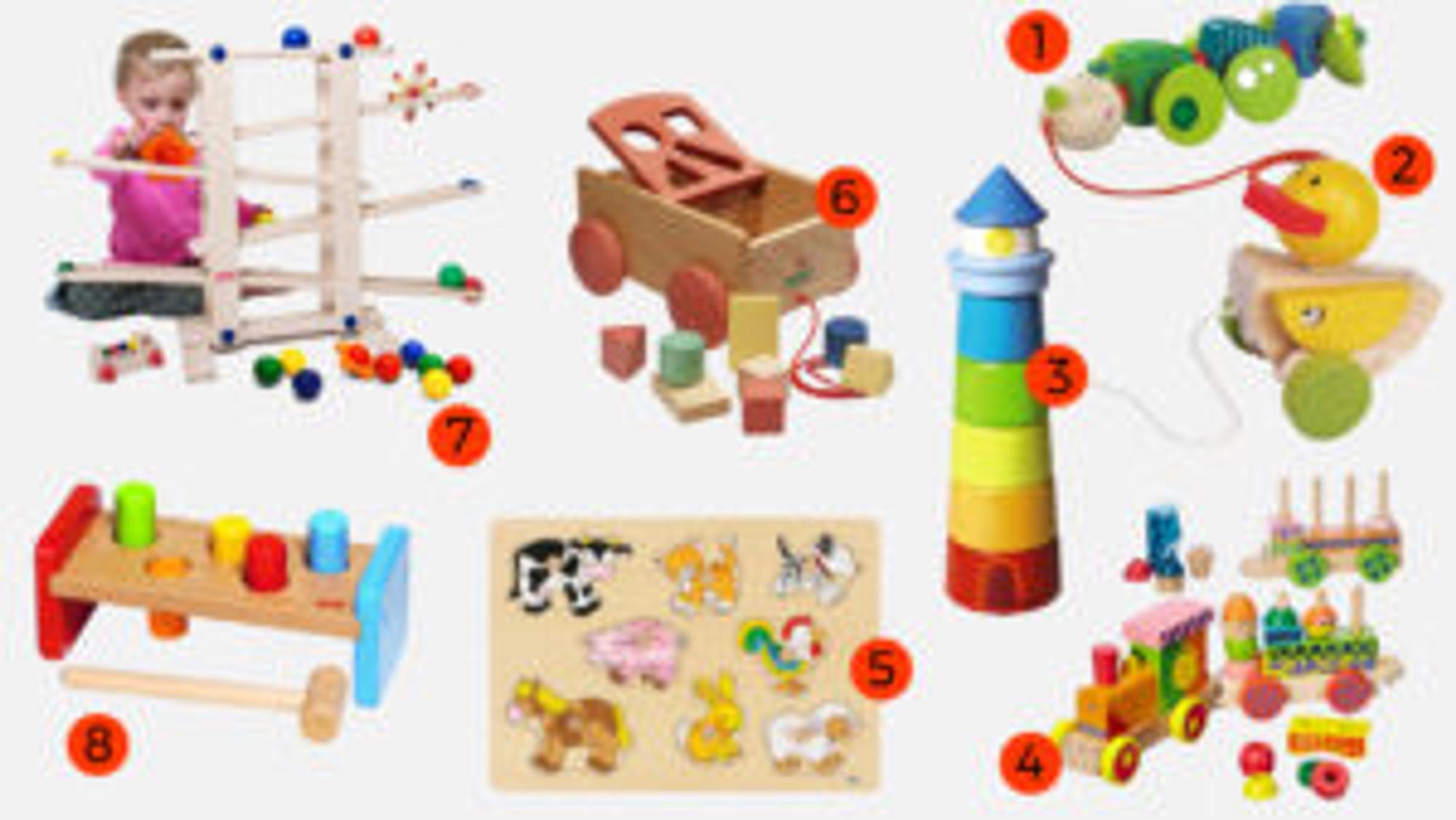 Holzspielzeug für 1-Jährige