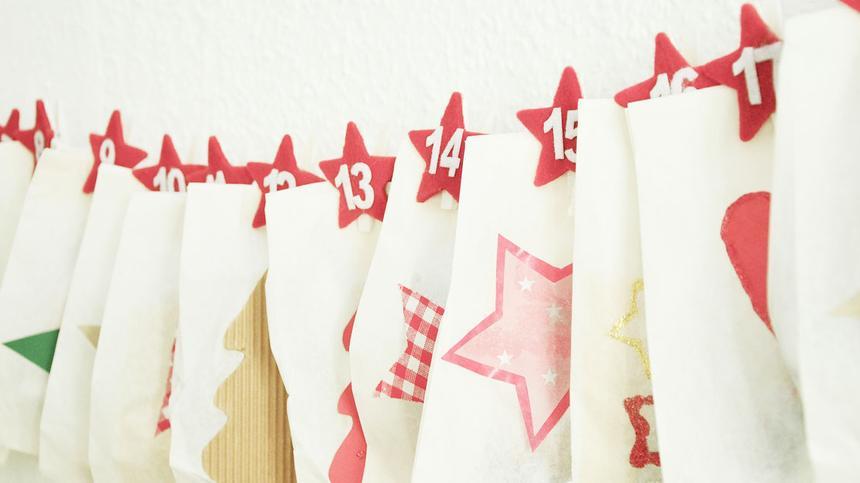 Schnelle Adventskalender basteln? Mit diesen Tipps kein Problem