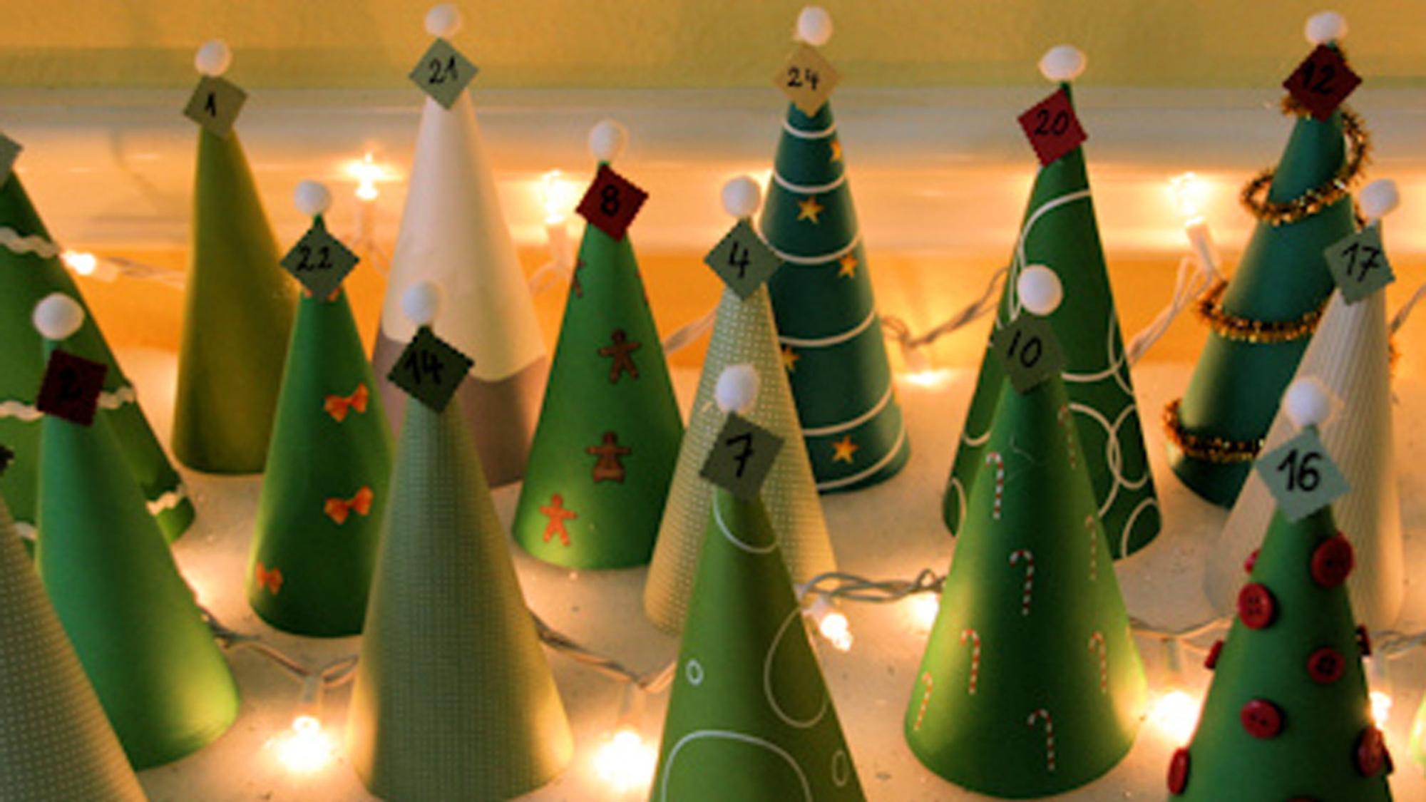 Weihnachtskalender Tannenbaum.Adventskalender Basteln 16 Wunderschöne Vorlagen Anleitungen