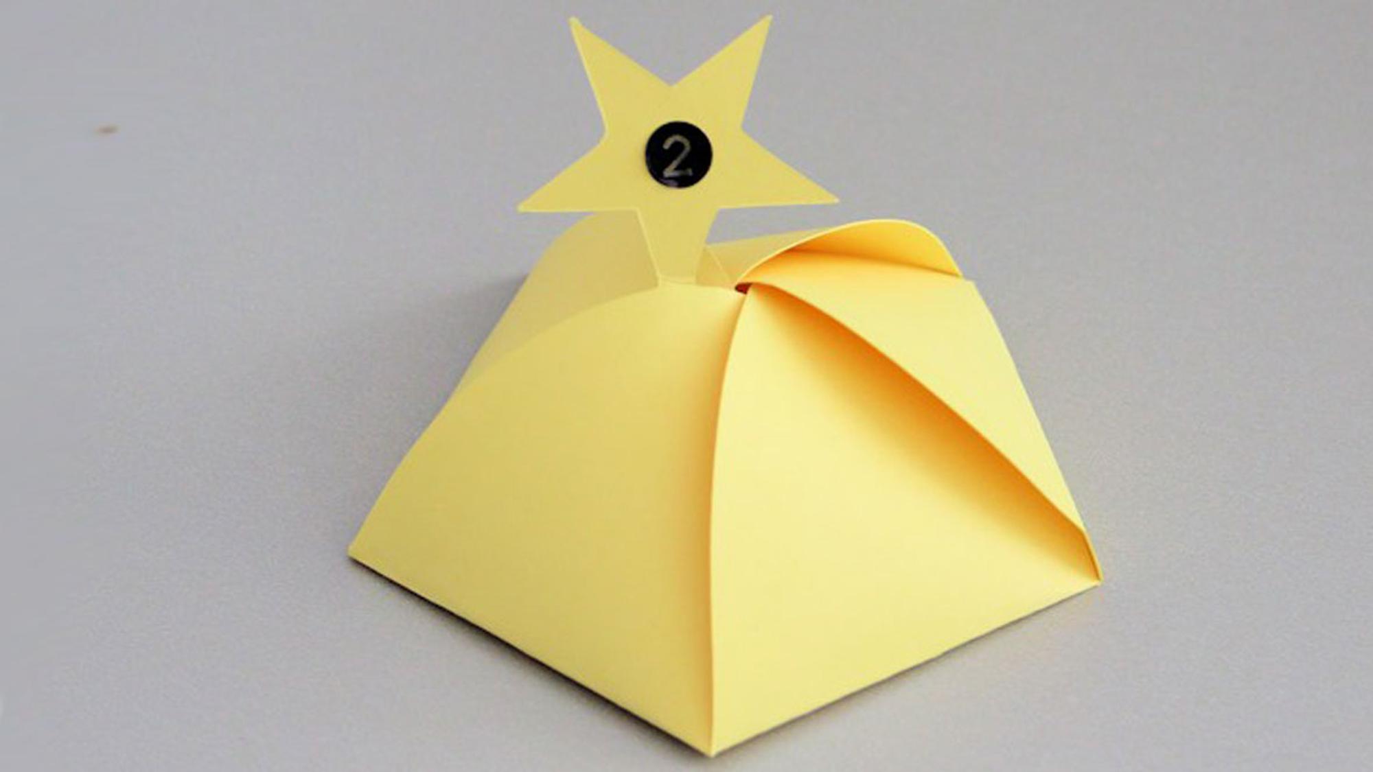 Adventskalender Sterne Bastelanleitung Für Kleine