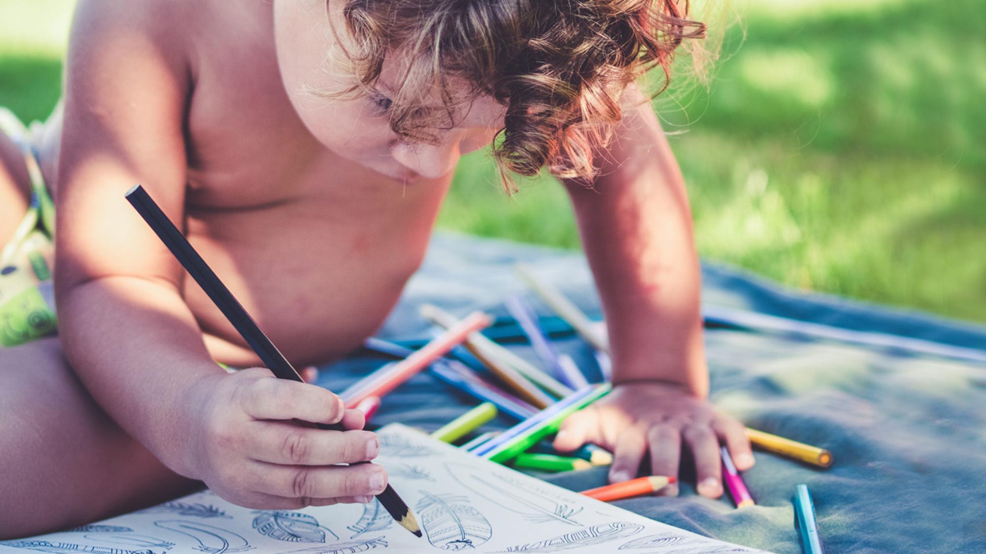 Wenn Kinder Malen Lernen So Entwickeln Sich Kinderzeichnungen