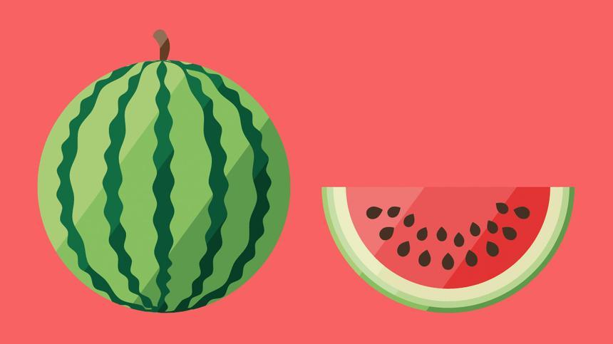 40. SSW: Bild einer Wassermelone