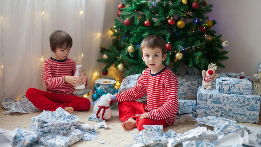 Schenken ist schön. Aber müssen so viele Geschenke sein?