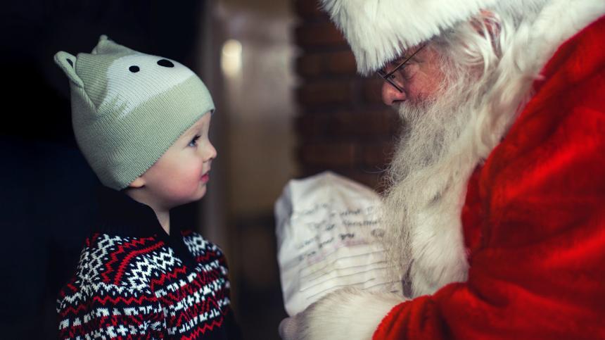 Der Weihnachtsmann bringt die Geschenke - oder?