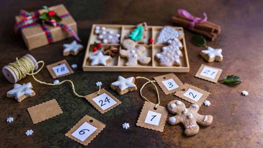 24 Adventskalender-Ideen, die Kinderaugen zum Strahlen bringen.