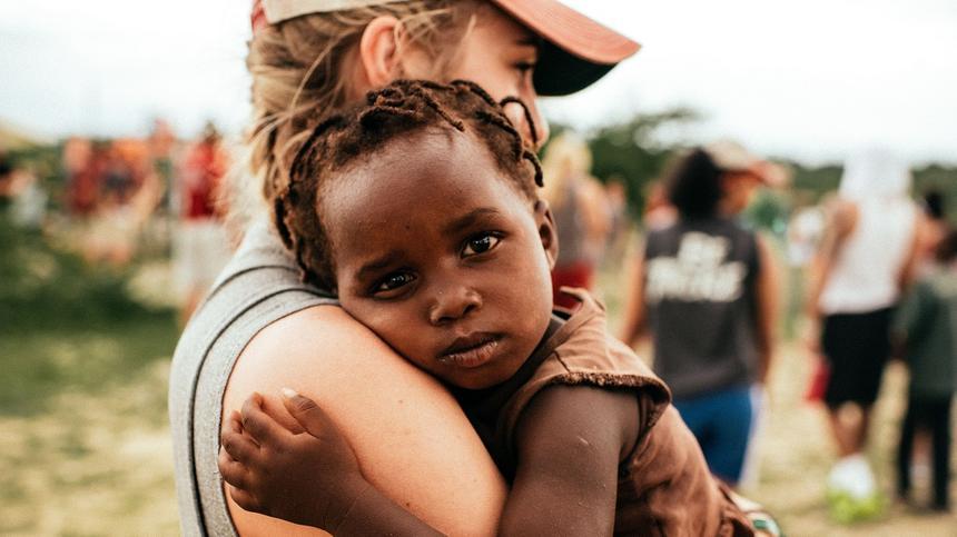 In Afrika sterben die meisten Kinder an einer Lungenentzündung
