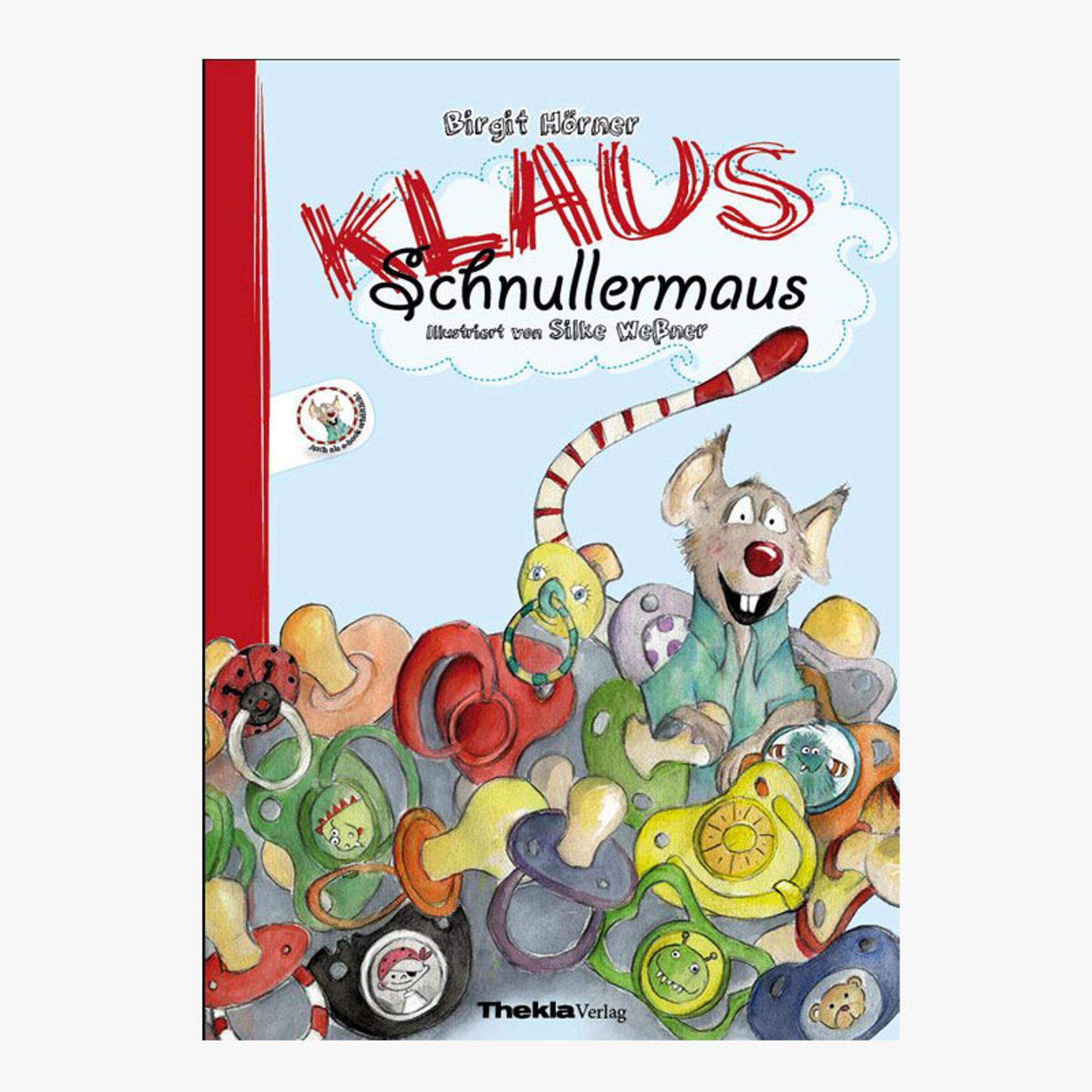Buch-Cover Klaus Schnullermaus