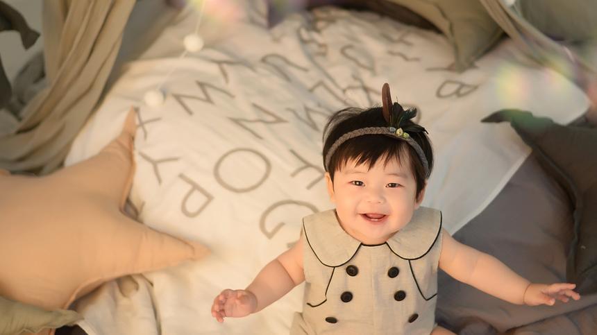 Babyzimmer mit Deko