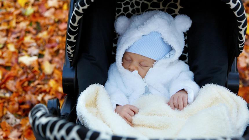 Stress vermeiden, wenn Babys im Buggy in die richtige Fahrtrichtung sitzen