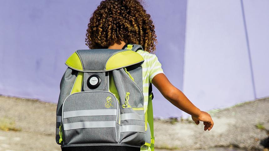 Ein Schulranzen begleitet Kinder viele Jahre.