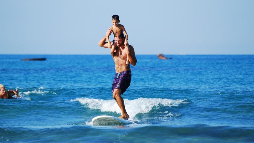 Wie der Vater so die eigenen Kinder - wenn man dieser Studie glaubt.