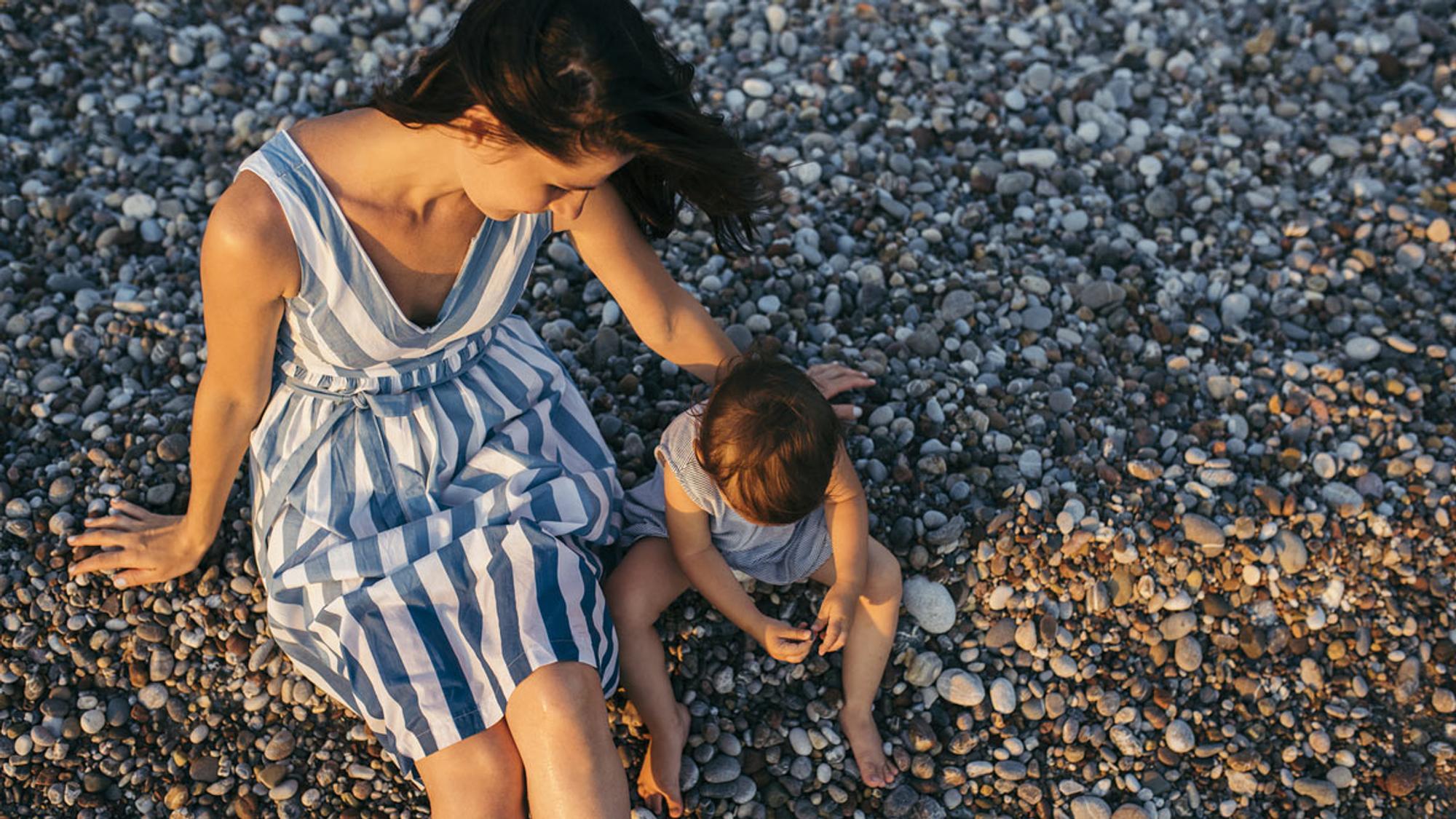 Natürlich blutet das Mutterherz mit, wenn das Kind im Urlaub krank wird.
