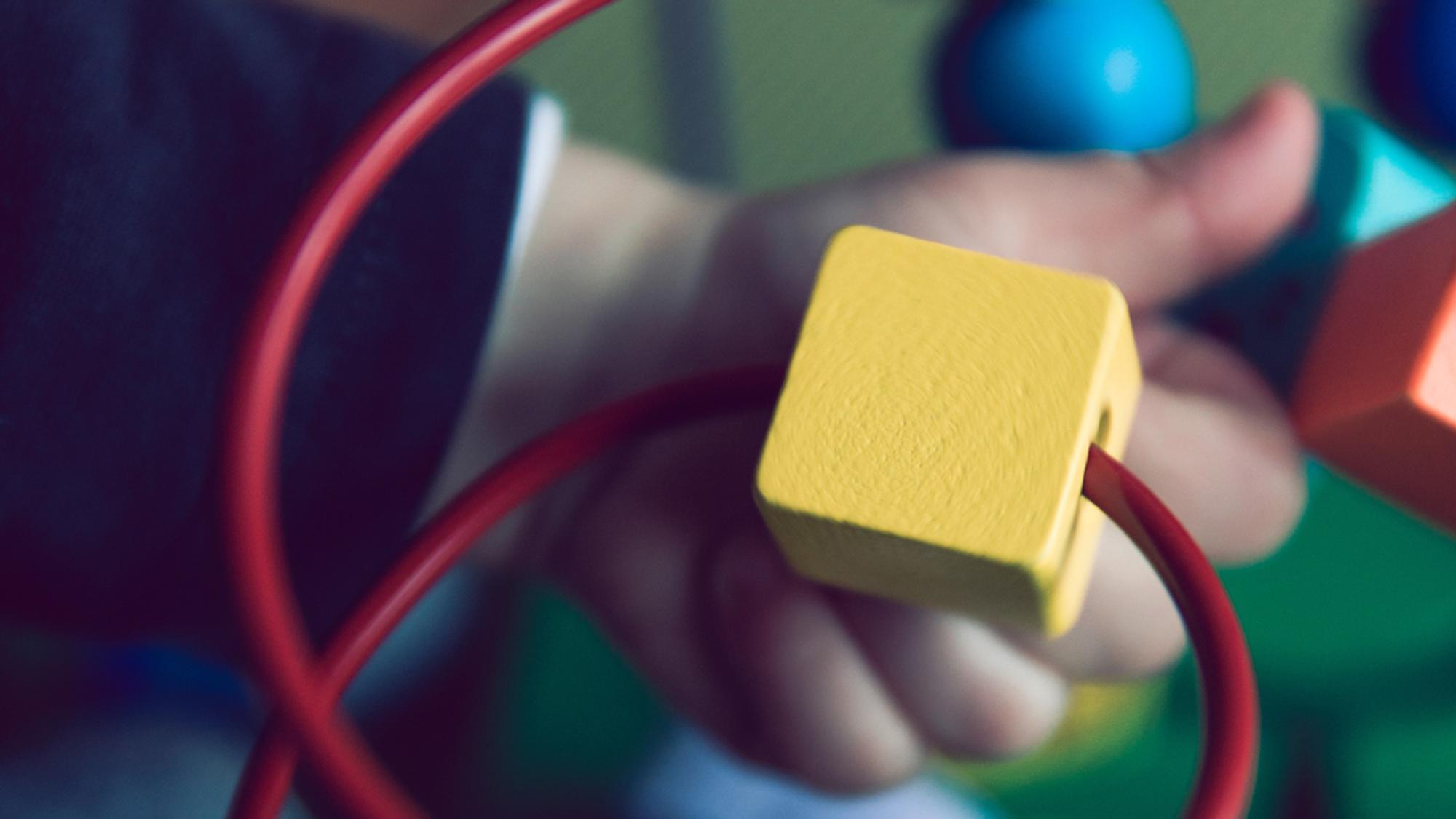 Dein Kind kann mit diesem Spielzeug ab 1 Jahr spielen
