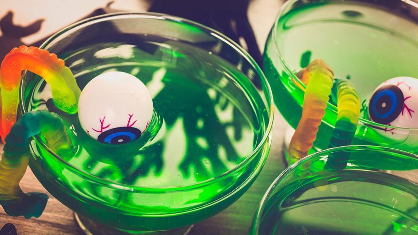 4 Rezepte für eine Kinderbowle Halloween Style