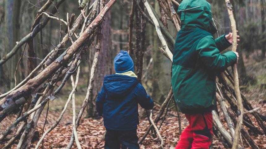 Für Kinder ist ein Outdoorurlaub Abenteuer pur.