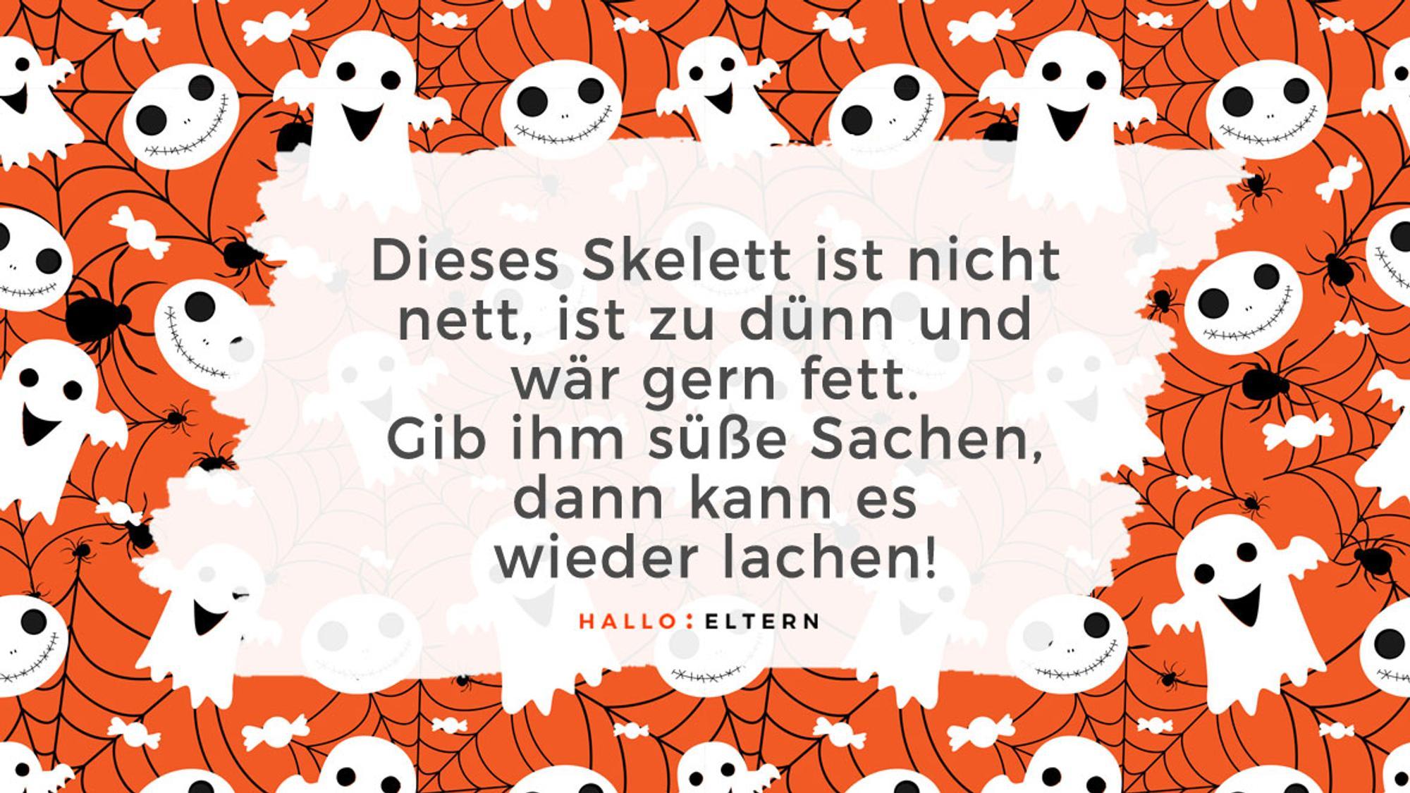 Halloween-Sprüche