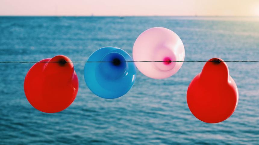Ballons können auch ohne Helium fliegen