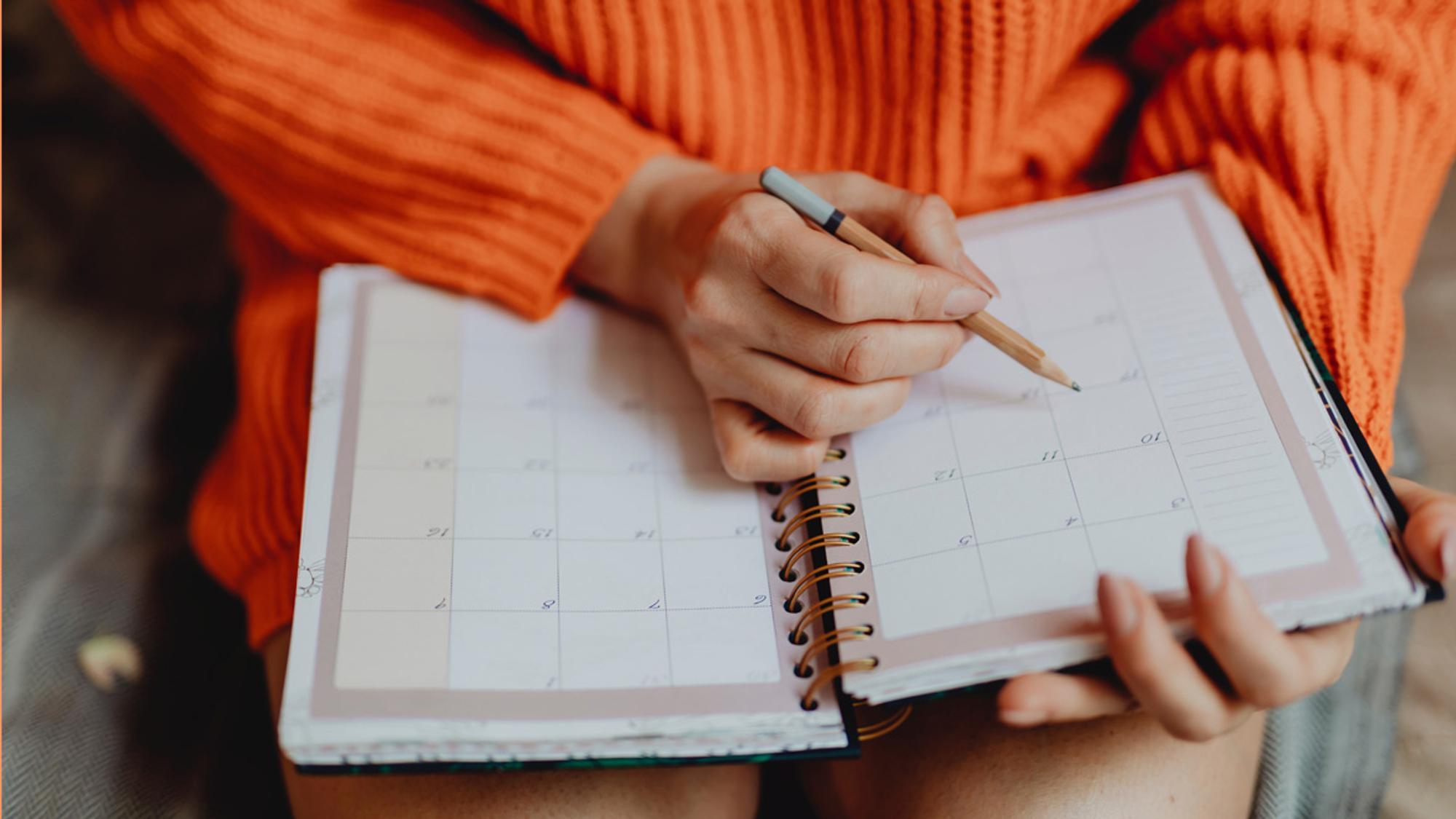 Wie funktioniert die Kalendermethode?