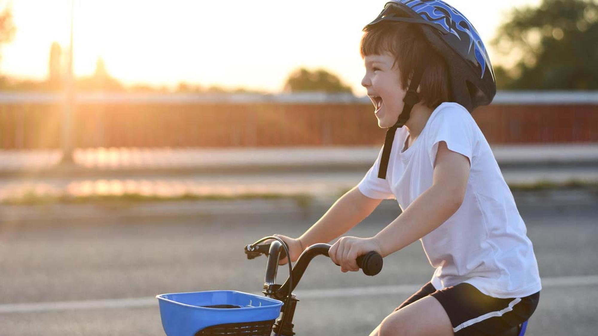Fahrrad fahren lernen: So klappt es!