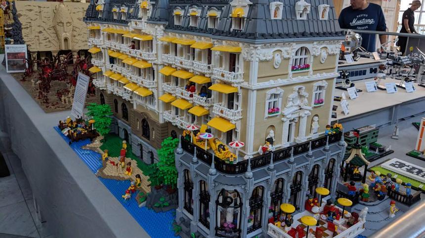 Lego XXL: Bei diesen Kreationen kann man nur staunen.