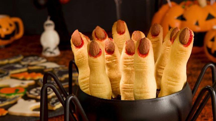 Hexenfinger und weitere gruselige Halloween-Rezepte