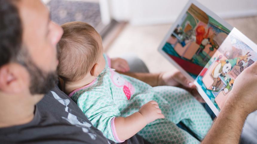 Vorlesen ist wichtig für die Entwicklung von Kindern
