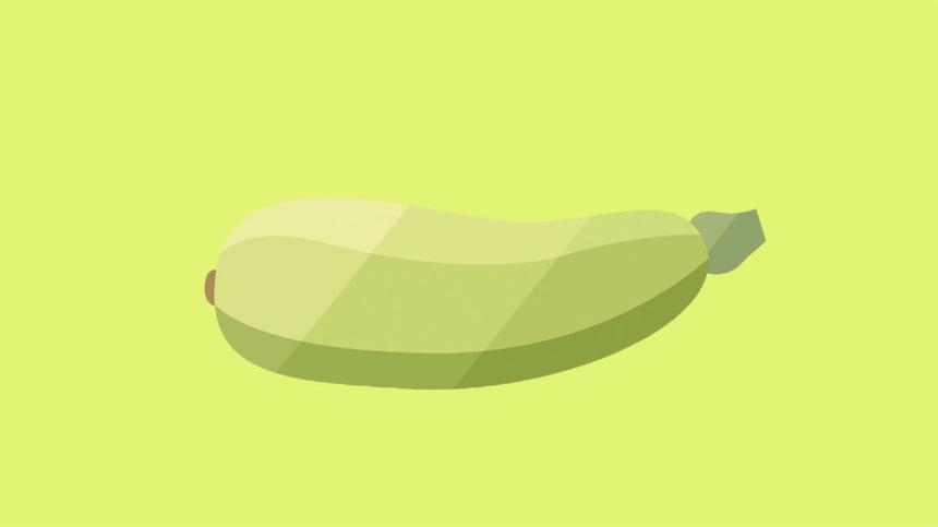 In der 29. SSW ist dein Baby etwa so groß wie eine Zucchini