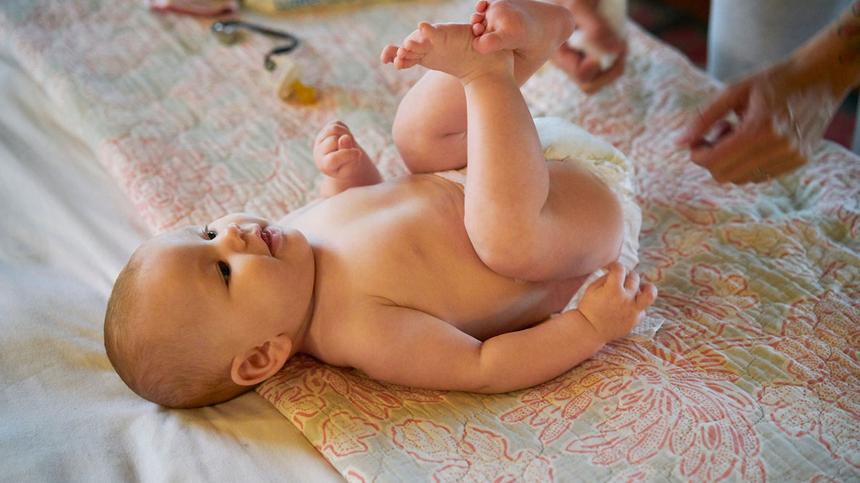 Die Babyhautpflege im Winter ist besonders wichtig
