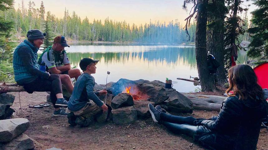 Camping mit Kindern kann Fluch oder Segen sein