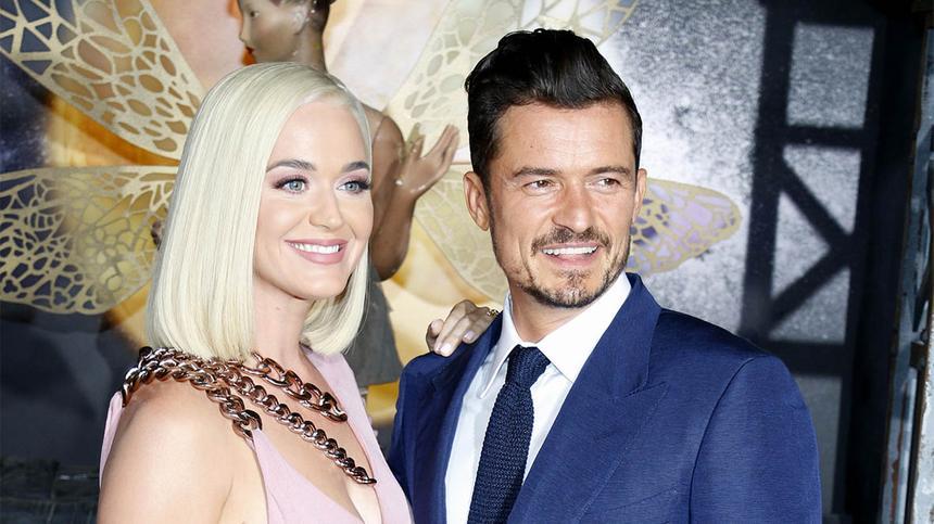 US-Sängerin Katy Perry und ist schwanger. Sie und Schauspieler Orlando Bloom erwarten zusammen ihr erstes Baby.