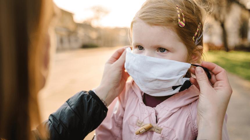Wie gefährlich sind Mund-Nasen-Schutzmasken für Kinder?