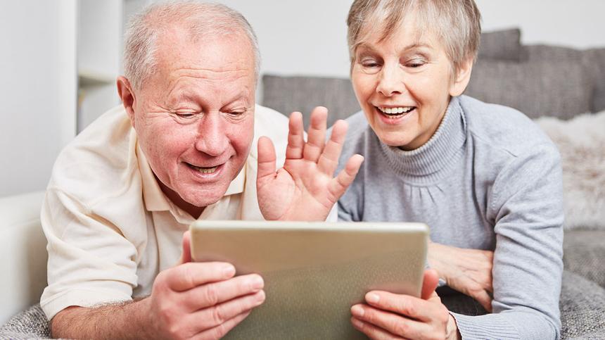 Digitale Technologie macht Video-Chat möglich