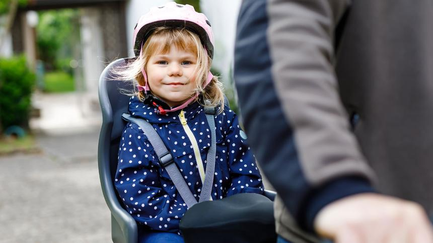 Große Rückrufaktion von Fahrradkindersitzen