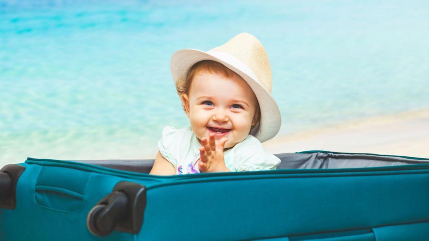 Reisen mit Baby - so gelingt euch ein perfekter Urlaub