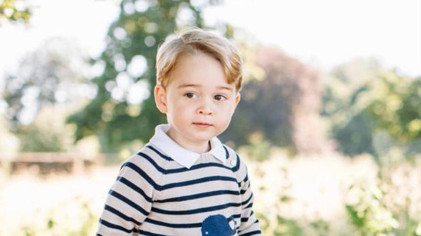 Prinz George wird sieben Jahre alt.