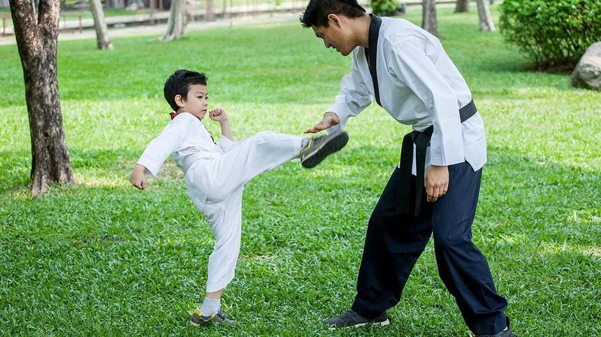 Wie Kampfsport meinen Sohn selbstbewusster gemacht hat.