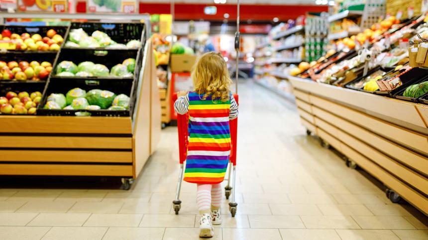 Mit konsumfreudigem Kleinkind werden wenige Minuten zu gefühlten Stunden.