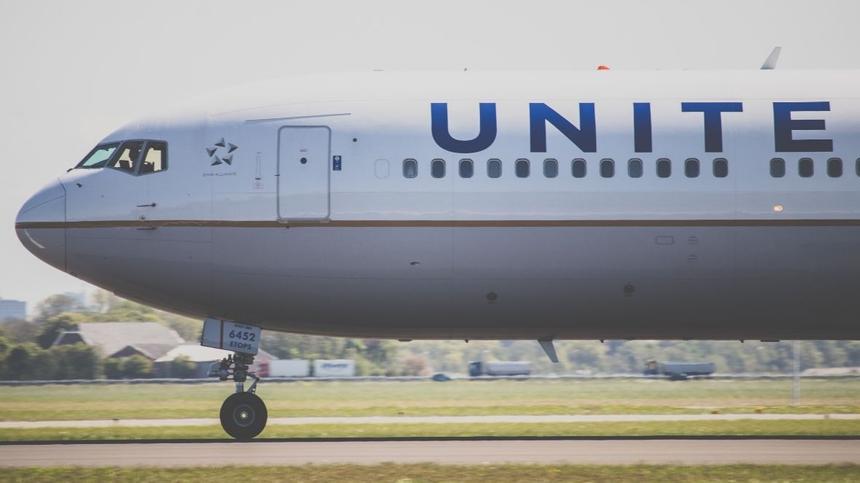 Flugzeug der United Airlines