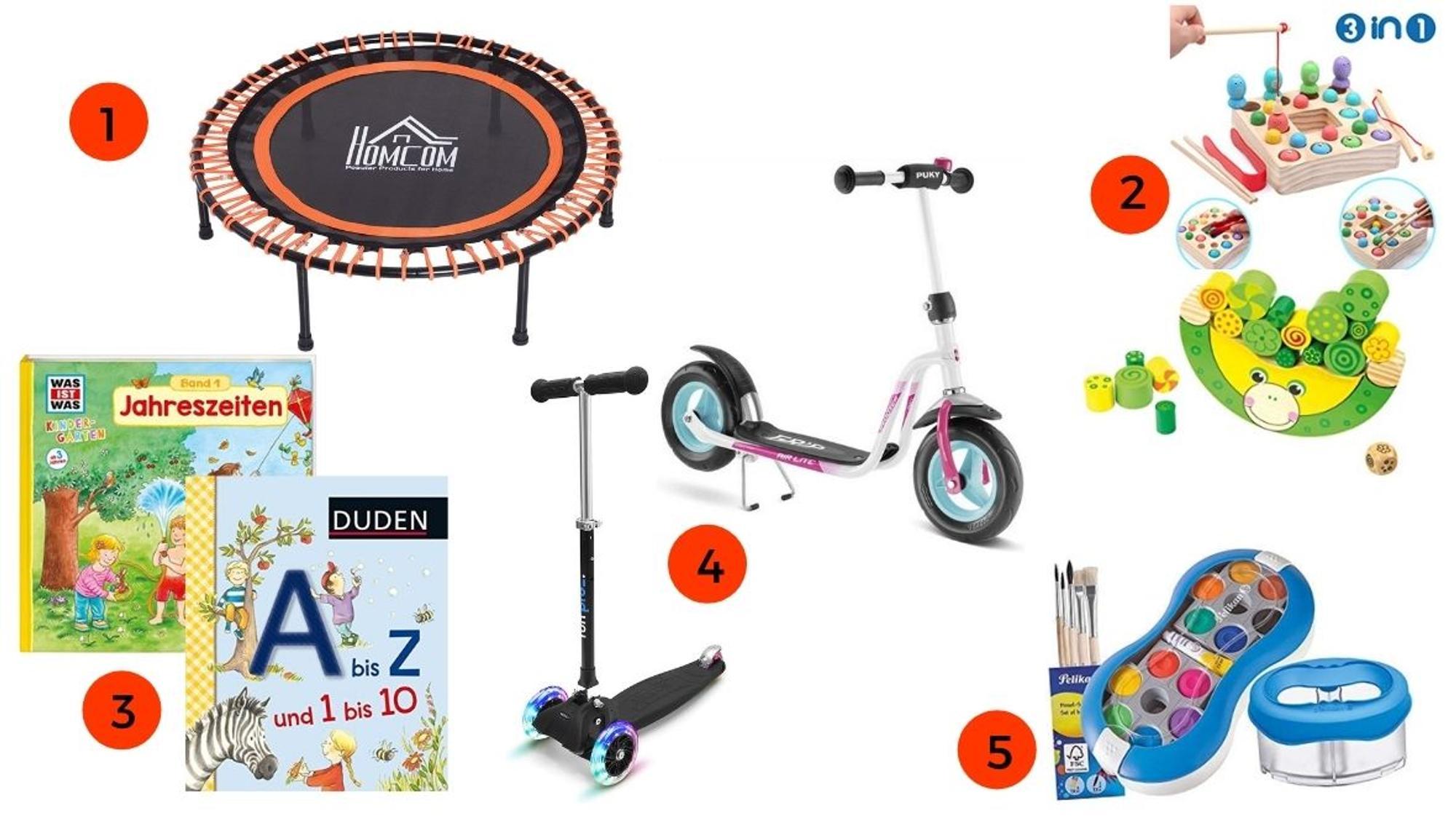 Geschenke für 3-Jährige Entwicklungsförderung